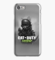Cat of Duty 2 iPhone Case/Skin