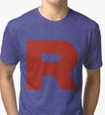 Team Rocket R Tri-blend T-Shirt