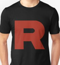 Team Rocket R Slim Fit T-Shirt