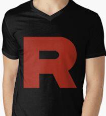 Team Rocket R Men's V-Neck T-Shirt