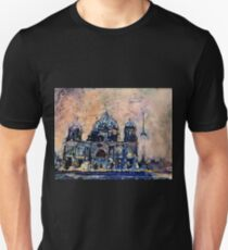 Watercolor painting of Berlin Cathedral- Germany T-Shirt