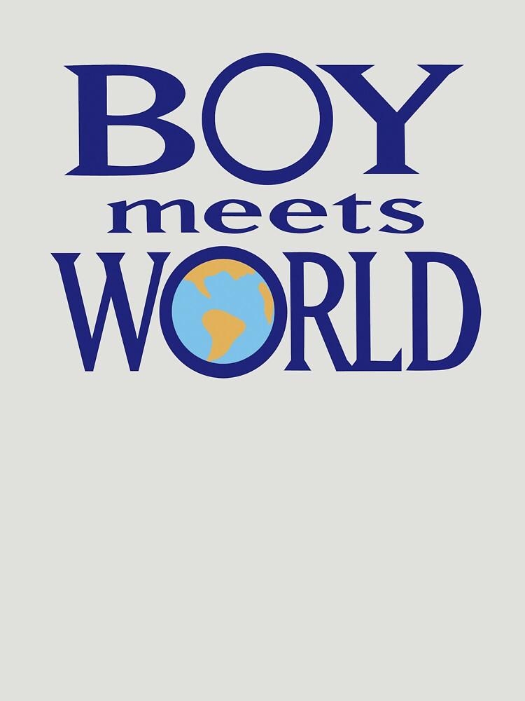 TShirtGifter presents: Boy meets world | Unisex T-Shirt