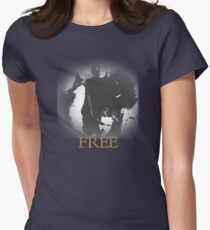 Free Paul Rodgers t shirt  Women's Fitted T-Shirt