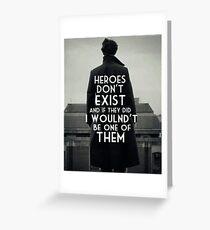 BBC Sherlock Heroes Dr Who Superwholock Tumblr John Watson Holmes Moriarty Greeting Card
