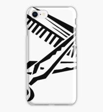 Scissors and cumb iPhone Case/Skin