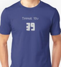 Thank You 39 Unisex T-Shirt