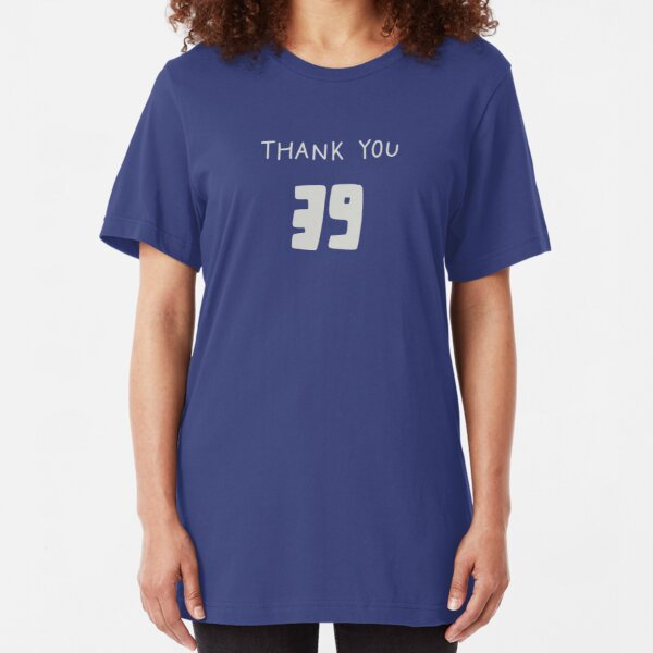 Thank You 39 Slim Fit T-Shirt