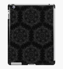 Black on Black iPad Case/Skin