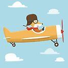 Mr. Fox is Flying by cartoonbeing