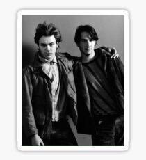 River & Keanu Sticker