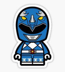 Blue Power Chibi Ranger Sticker