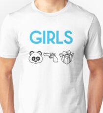 GIRLS  Slim Fit T-Shirt