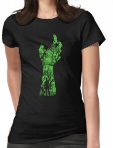 EVIL DEAD - HAND'S UP Womens Fitted T-Shirt