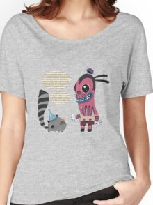 Lecture T-shirt femme coupe relax
