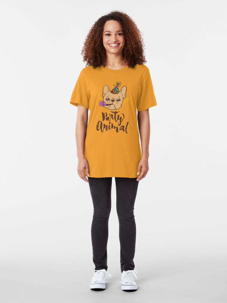 Alternate view of Party Animal Slim Fit T-Shirt