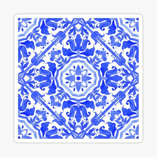 Portuguese azulejo tiles.  Sticker