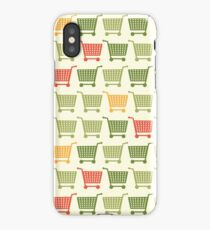Shopping cart colored iPhone Case/Skin