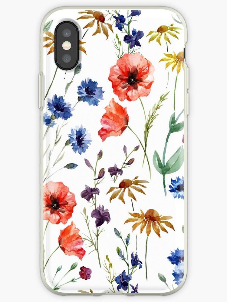 Wildblumen-Aquarell von alison reckewey