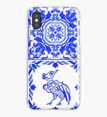 Portuguese azulejo tiles.  iPhone Case/Skin