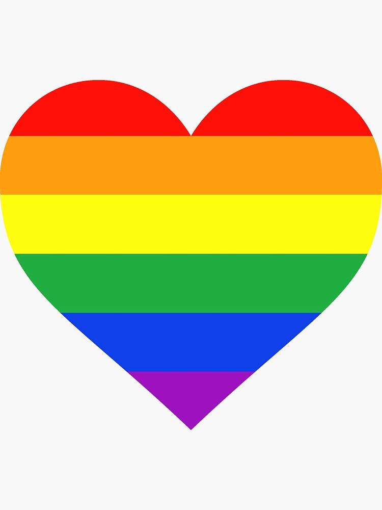 Rainbow Heart by kixlepixel