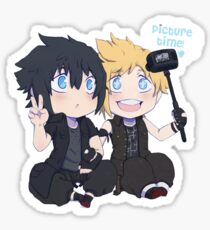 FFXV - Tiny Noctis and Prompto Sticker