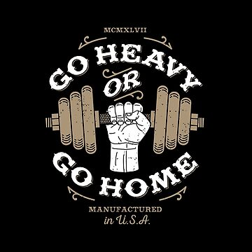 go heavy go home: lifting gym by liftwell