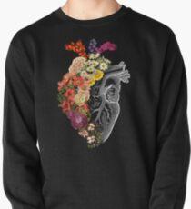 Flower Heart Spring Pullover