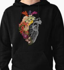 Flower Heart Spring Pullover Hoodie