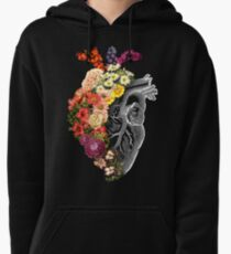 Blumen-Herz-Frühling Hoodie
