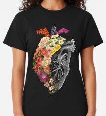 Blumen-Herz-Frühling Classic T-Shirt