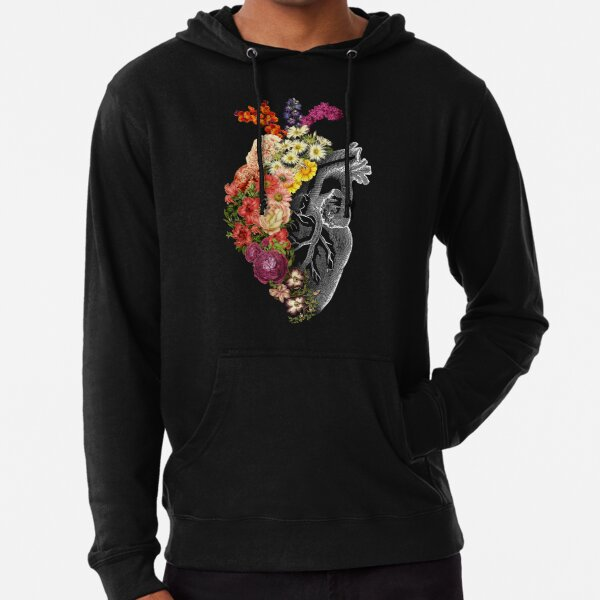 Dolphin Shirt Co Dia De Los Muertos Pastel Sugar Skull Ladies Zip-Up Hoodie