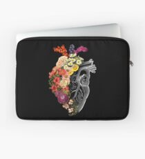 Flower Heart Spring Laptop Sleeve
