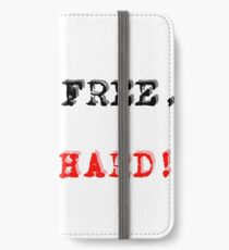 live free, pun hard! iPhone Wallet/Case/Skin