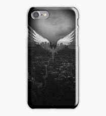 City Angel Black iPhone Case/Skin