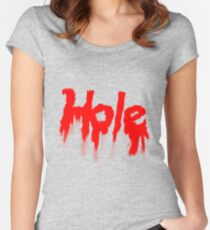 HOLE Women's Fitted Scoop T-Shirt