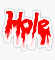 HOLE Sticker