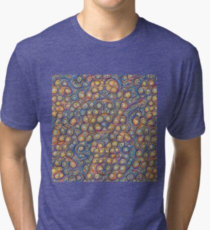 Grapes #DeepDream #Art Tri-blend T-Shirt