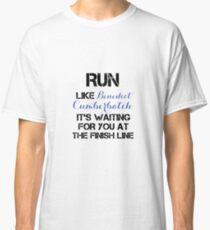 Run - Benedict Cumberbatch Classic T-Shirt