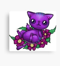 Mad Kitty Canvas Print