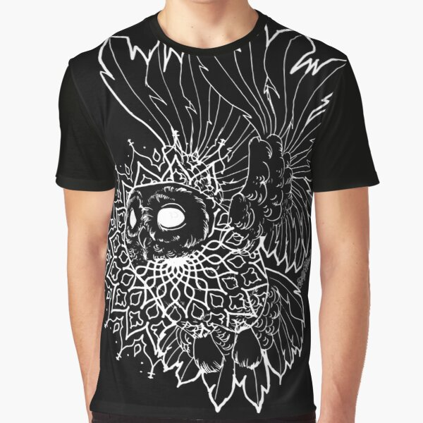 Space Owl Graphic T-Shirt