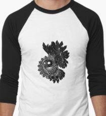 Space Owl Men's Baseball ¾ T-Shirt