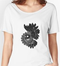 Space Owl Women's Relaxed Fit T-Shirt