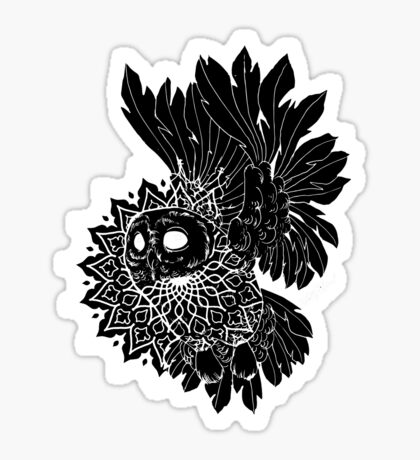 Space Owl Sticker