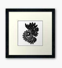 Space Owl Framed Print