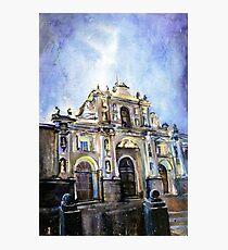 Cathedral- Antigua, Guatemala Photographic Print