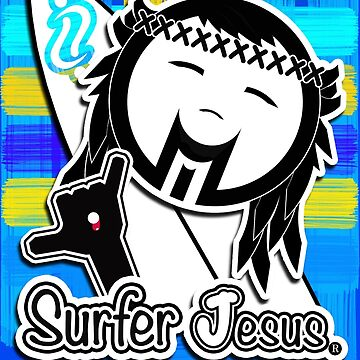 Surfer Jesus by chelo19
