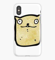 cartoon cat iPhone Case