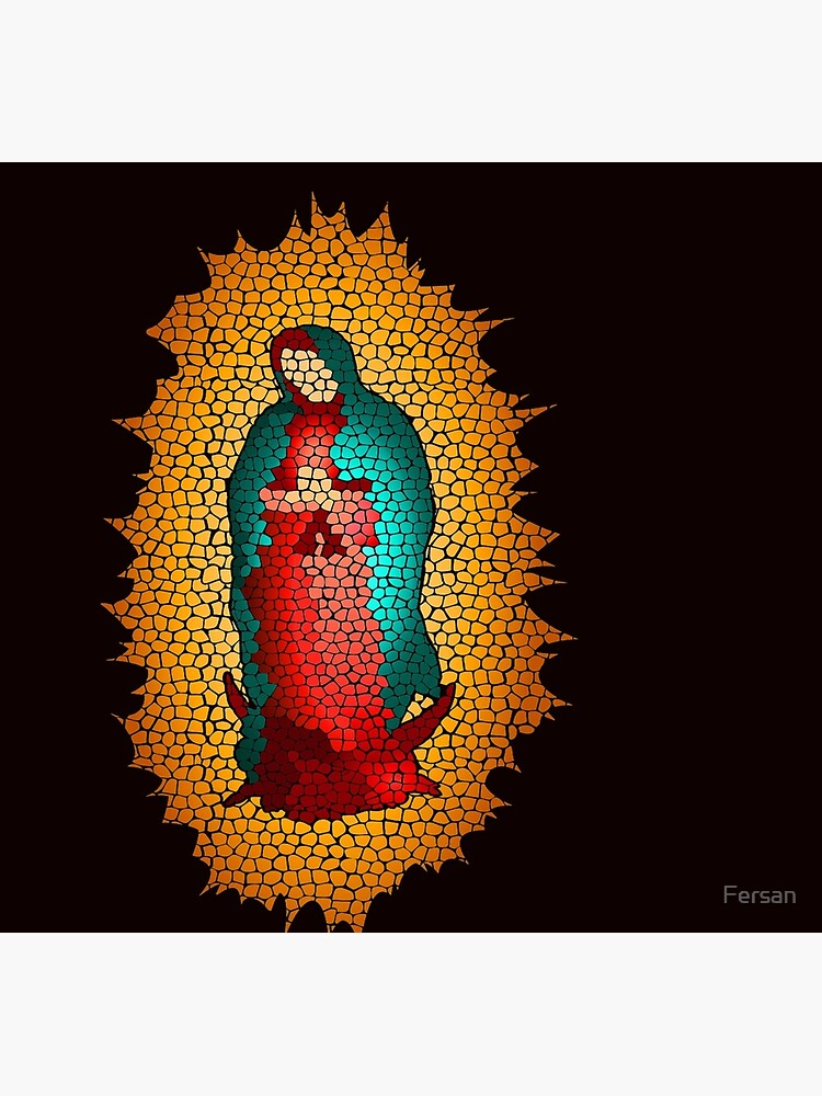 Guadalupe's Virgin Our Lady of Guadalupe by Fersan