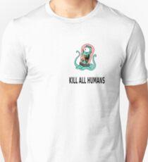 Simpson Alien kill humans Unisex T-Shirt