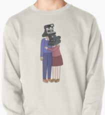 Camera Couple Pullover Sweatshirt